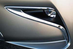 2016 Lexus interior