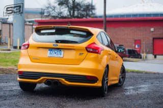 Ford Focus ST Mountune Rear