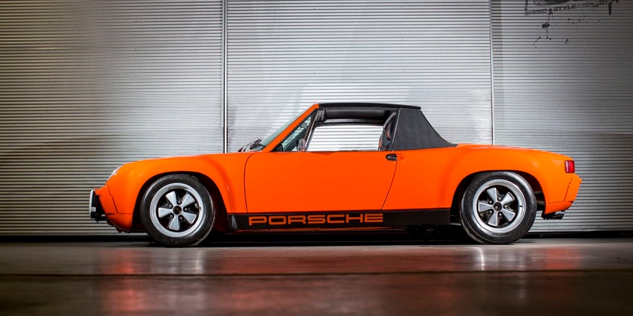 Kelly Moss Porsche 914