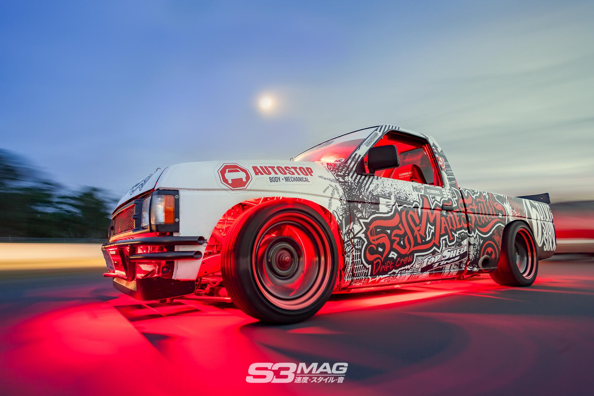 No Money No Problems: Alec's Nissan Hardbody Drift Truck ...