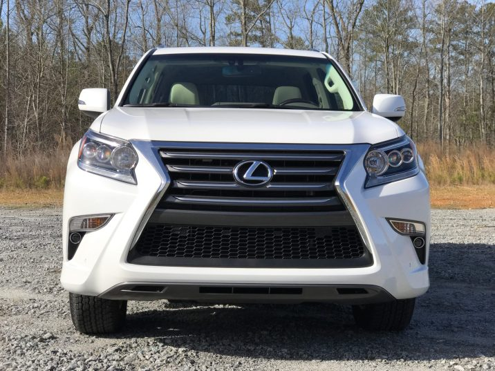 GX460 grille