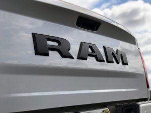 2017 Dodge Ram Rear End