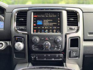 2017 Dodge Ram Center Console