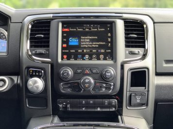 2017 Dodge Ram Center Console