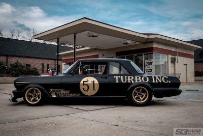 Twin-Turbo Right-Hand-Drive Chevy II Nova