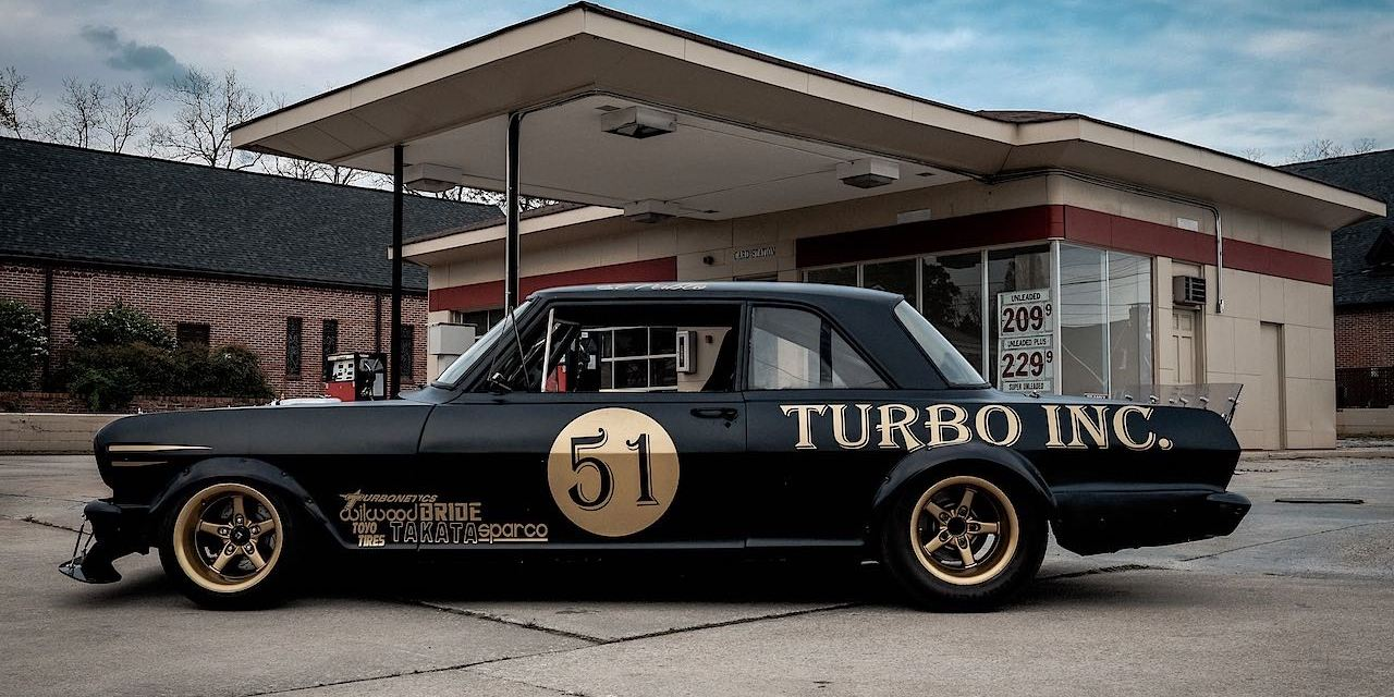 Twin-Turbo Right-Hand-Drive Chevy II Nova