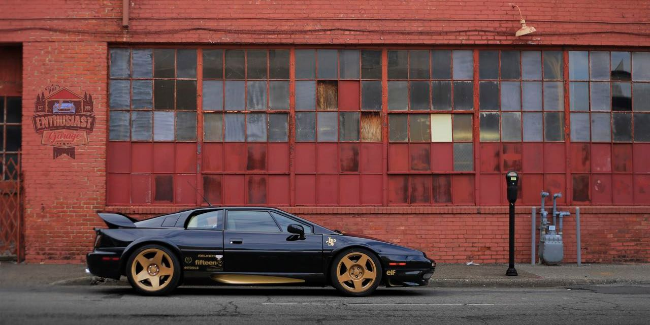 90's Exotics are more affordable than you think – Lotus Esprit V8TT