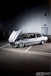 lowered E21 BMW