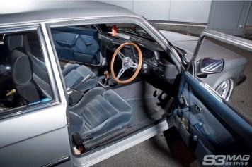 E21 BMW interior