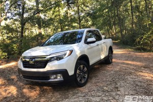 Honda Ridgeline offroad