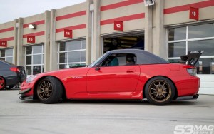 Red S2000 hardtop
