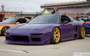 purple NSX Brada