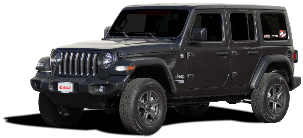 2018 Jeep Wrangler JL lift kit from Eibach