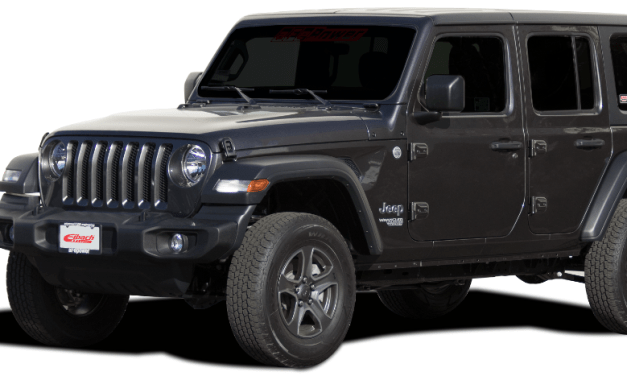 2018 Jeep Wrangler JL lift kit from Eibach