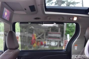 Toyota Sienna sun screen
