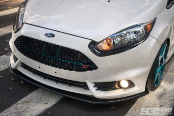 Fiesta front lip Maxton