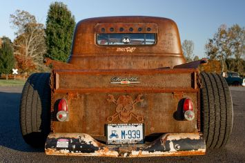 49 Chevy truck rust
