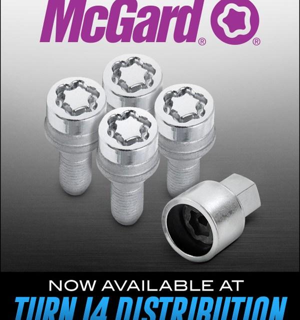 TURN 14 Distribution Adds McGard to Line Card