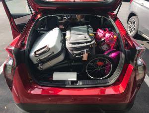 Toyota Prius storage cargo