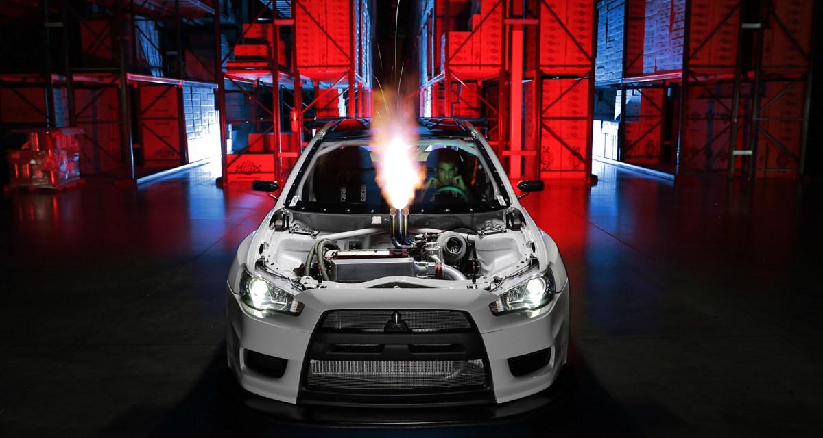 :bombtrack: The CSF Mitsubishi EVO X