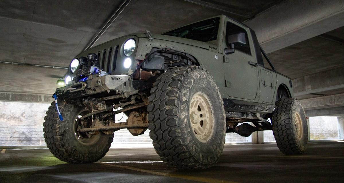 Jeep on Truckin'