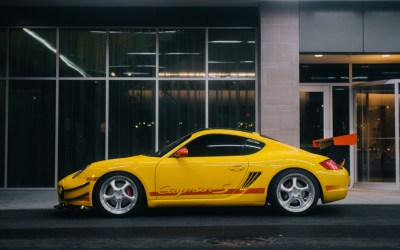Porsche Cayman S: Say Man, Nice Cayman