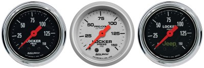 Air Locker Pressure Gauges Now Available