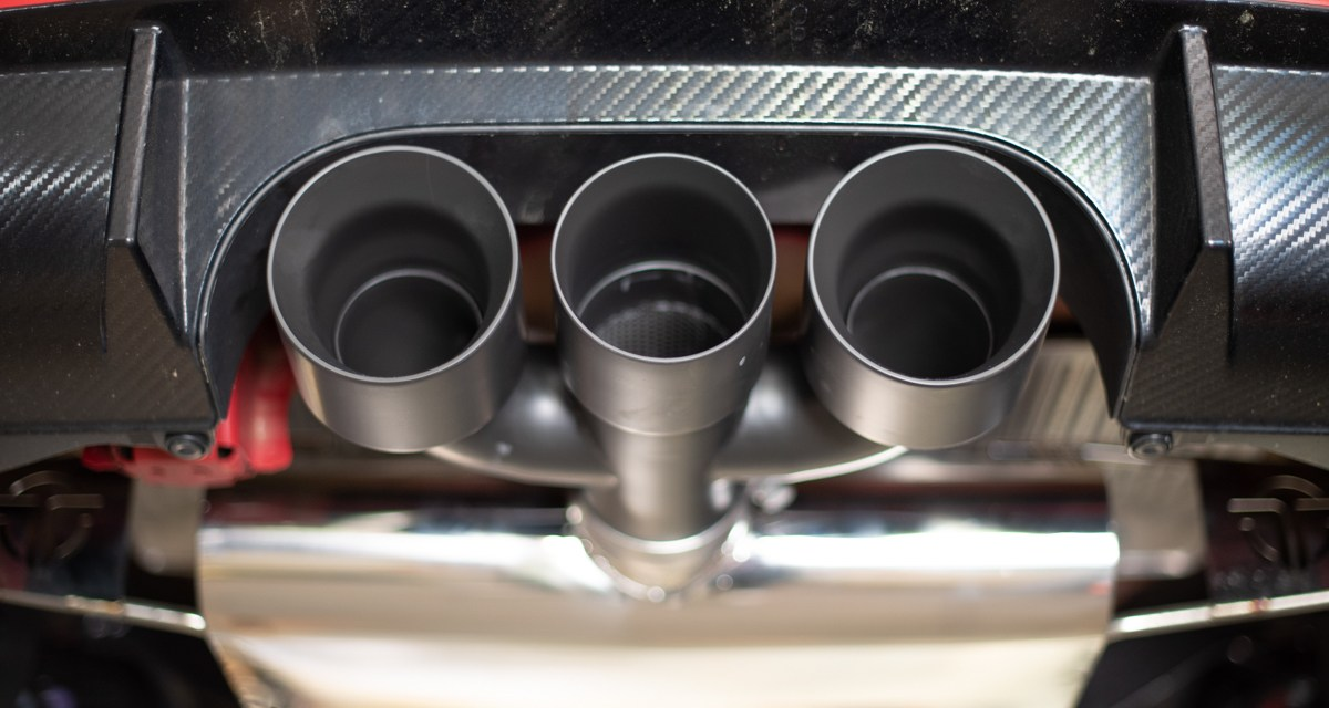 Thermal R&D Exhaust | Civic Type-R