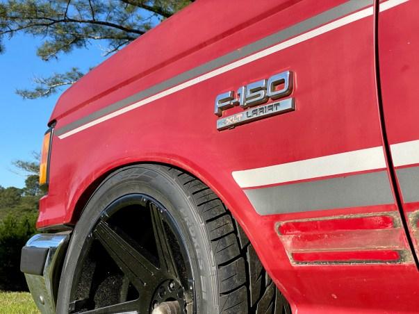 Bricknose Ford F150 wheels
