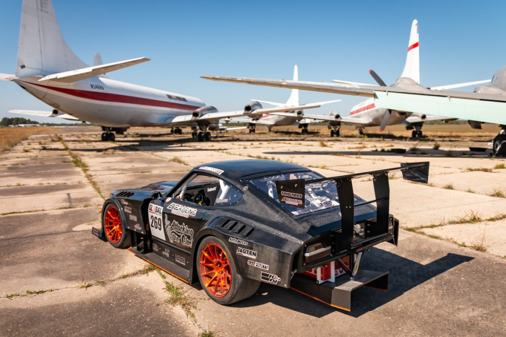 Datsun 240Z wing