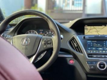 Acura MDX Aspec interior