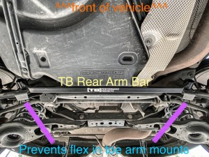 TB performance rear arm bar Focus ST