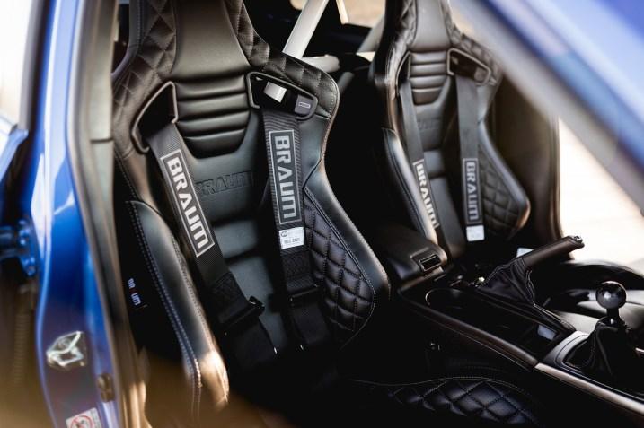 Braum racing seats subaru wry STI