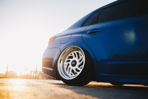 WRX STI wheel fitment