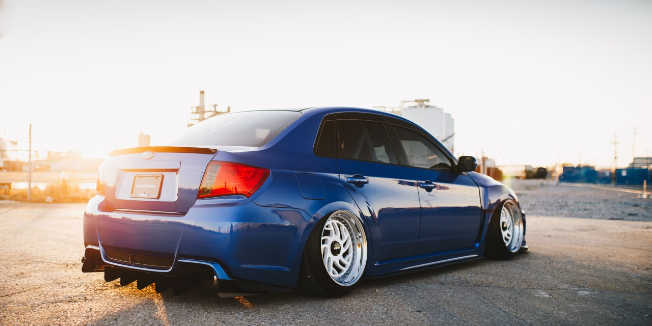 Forged Fitment Subaru WRX