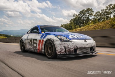 Supercharged 350Z… presented by Deatschwerks