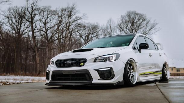 Hot Wheels STI white