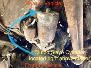944 clutch slave cylinder