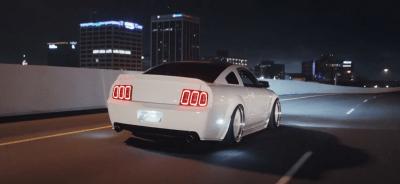 Drive & Shoot – John's bagged Mustang