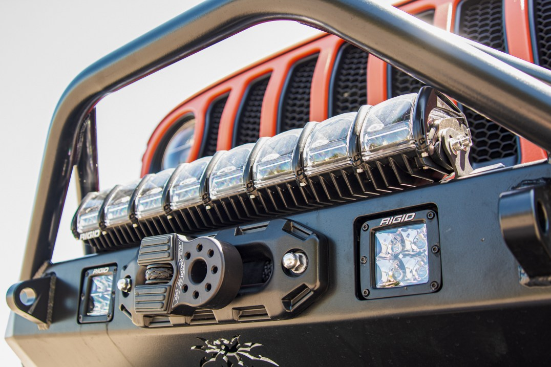 Rigid Lighting Jeep