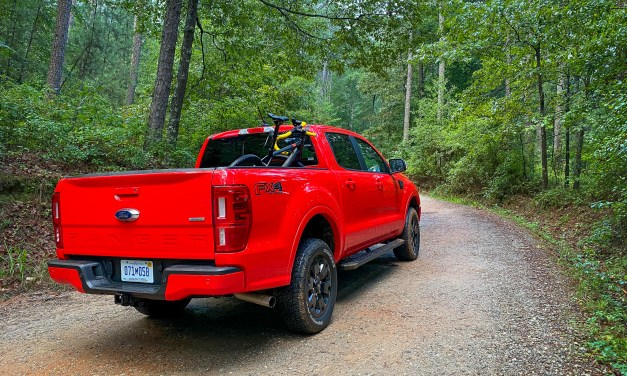 Race Red Ford Ranger FX4 Review