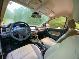 Ford Ranger FX4 interior