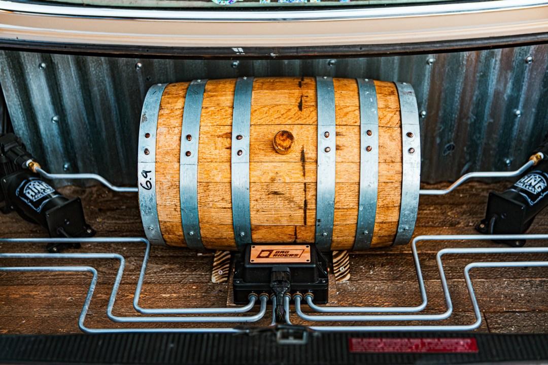 bagged trunk setup