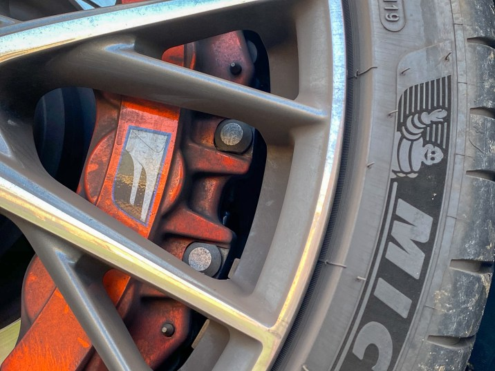 Lexus RC F brakes