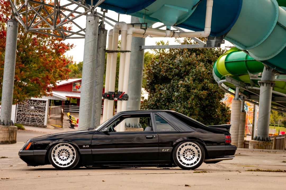 lowered foxbody mustang
