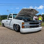 Bagged And Bodied Chevy