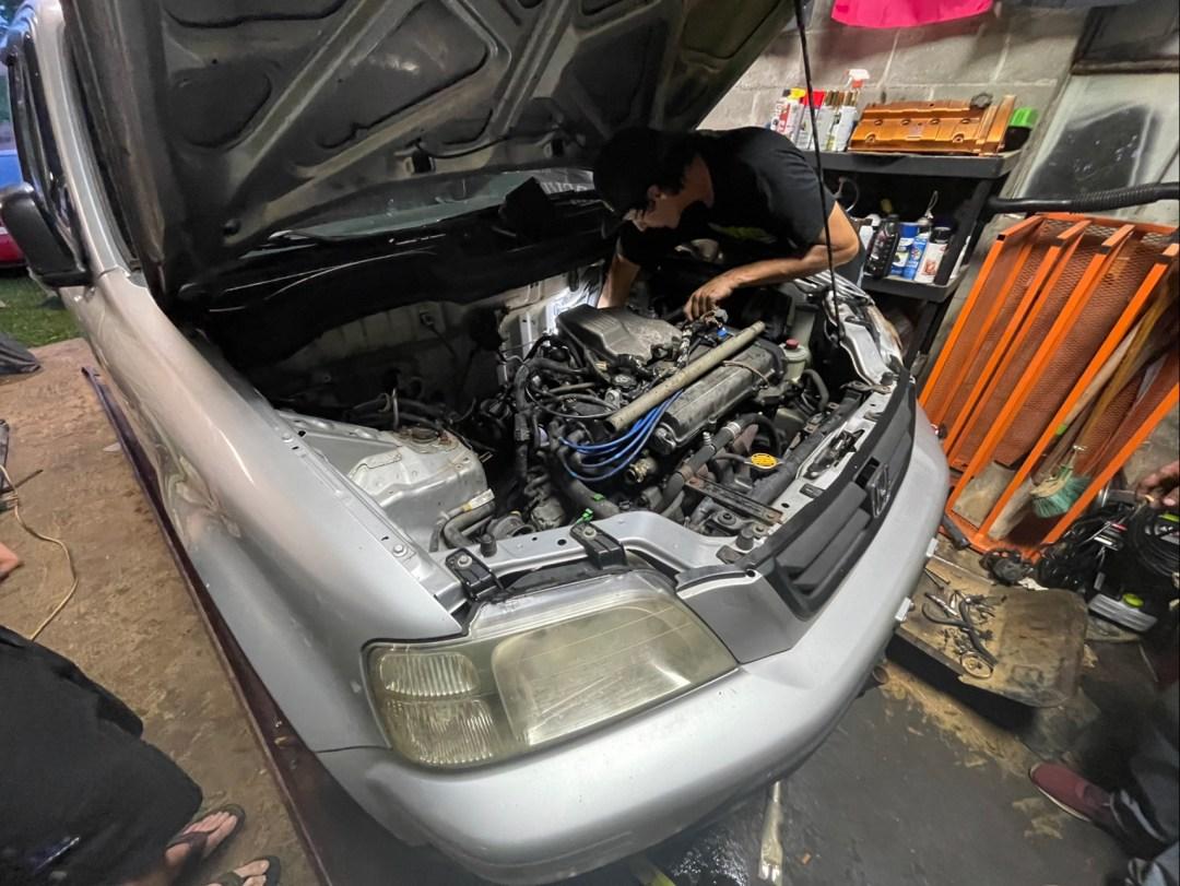 CR-V Engine Bay