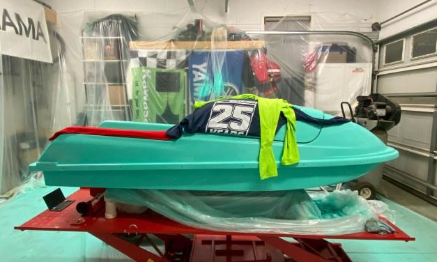 Jet Ski Paint // Kawasaki 750