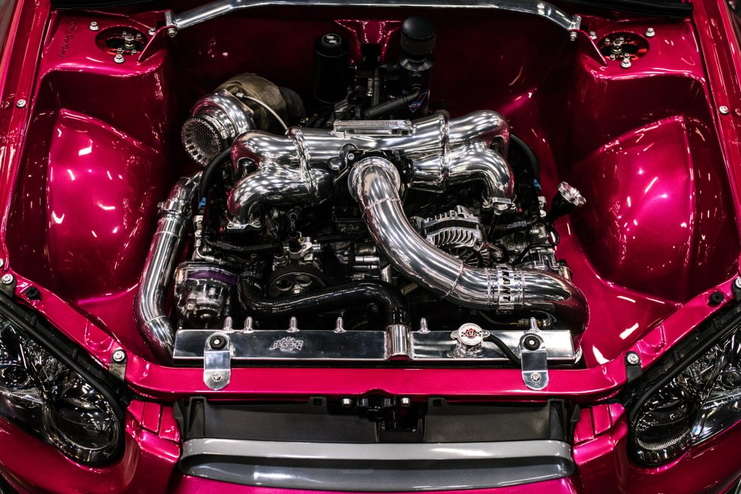 Subaru Engine Bay