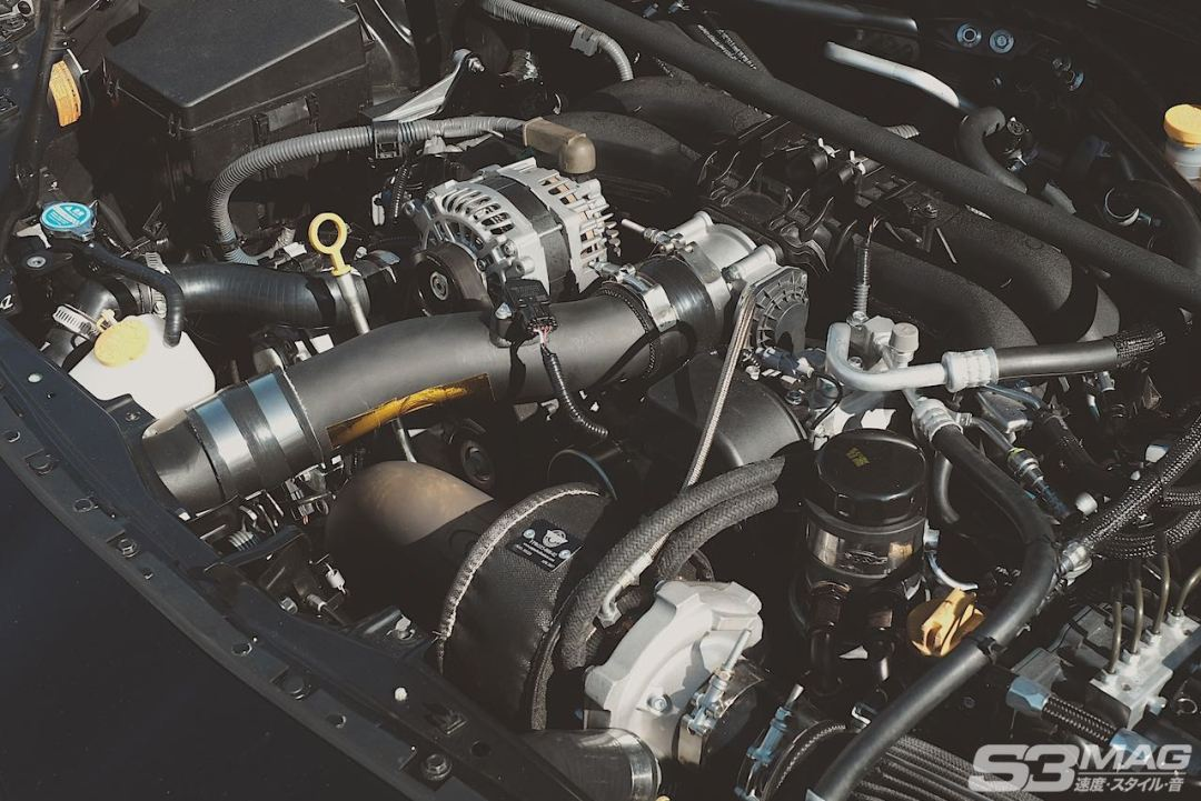 turbocharged BRX FRS 86